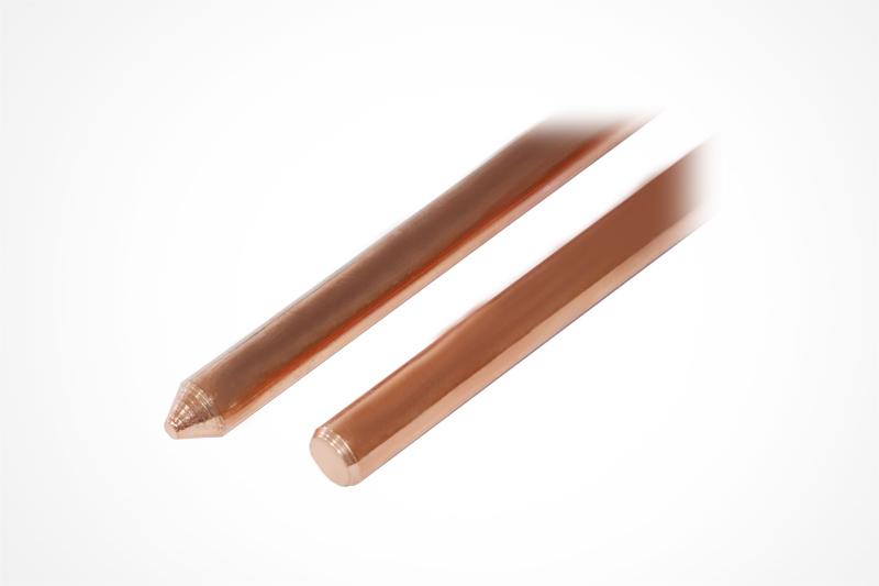 镀铜接地产品地极性能的研究